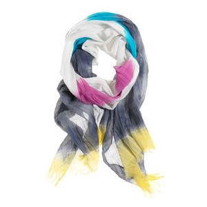 American Eagle Tie Dye Stripe Scarf